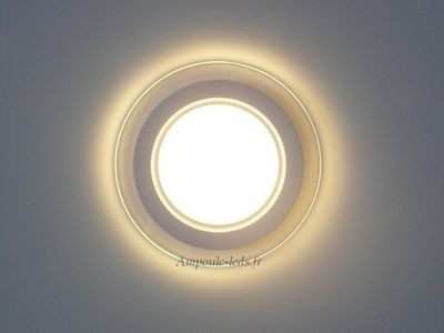 spot led ultra slim fixe blanc chaud 12 led smd 5730 version 230v ampoule id es pour. Black Bedroom Furniture Sets. Home Design Ideas