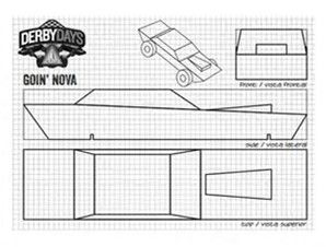 Nifty image pertaining to printable pinewood derby car templates