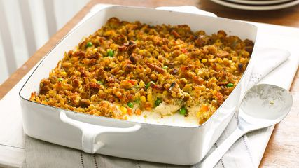 Stove Top Easy Chicken Bake Stovetop Stuffing Chicken Chicken Stuffing Casserole Stuffing