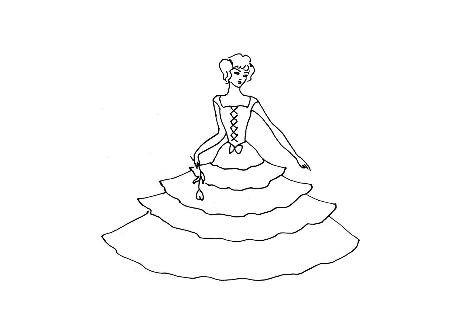 princess color pages printable | ... princess coloring pages free ...