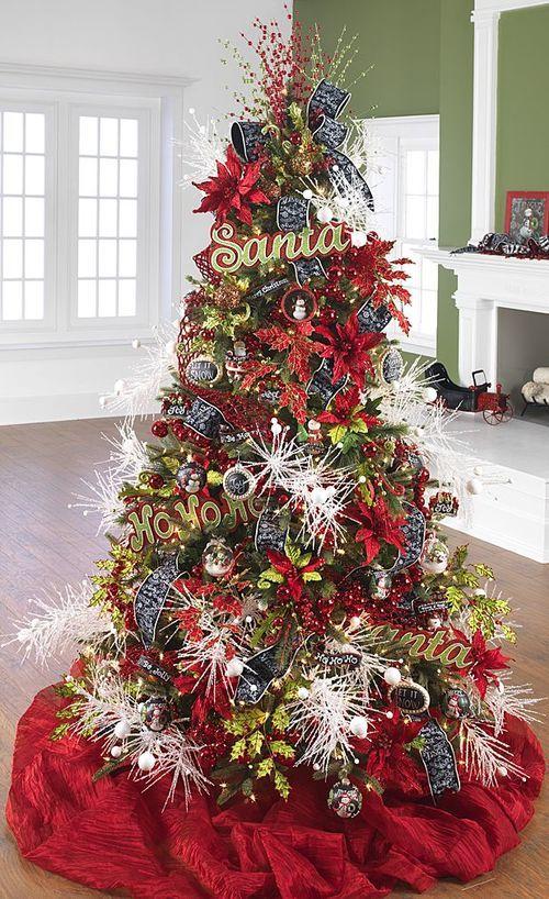 2014 To Be Jolly Tree by RAZ Imports - 60 Gorgeously Decorated Christmas Trees From RAZ Imports Christmas