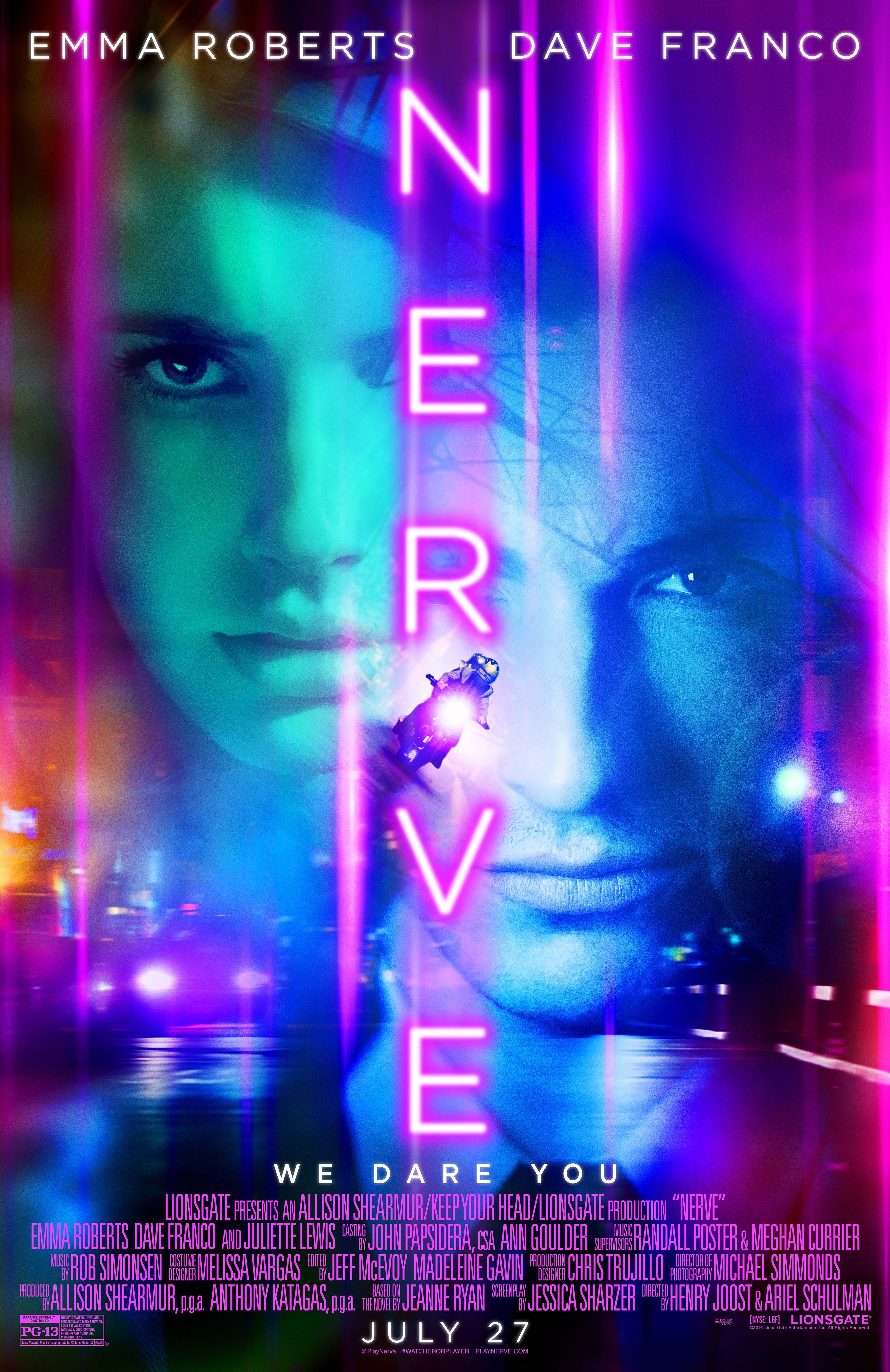 Nerve Starring Emma Roberts Dave Franco In Theaters July 27