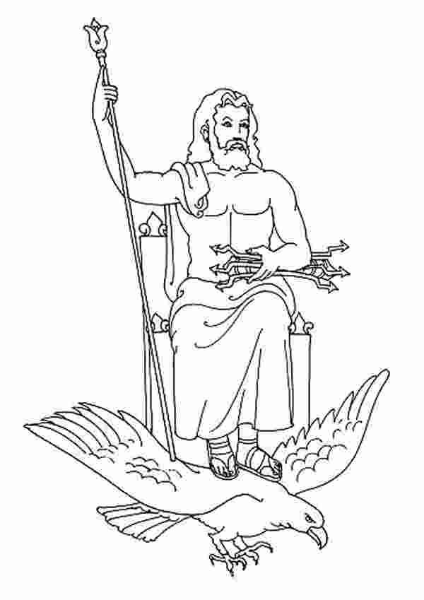 Coloring Book Zeus Coloring Pages More Than 49 Amazing