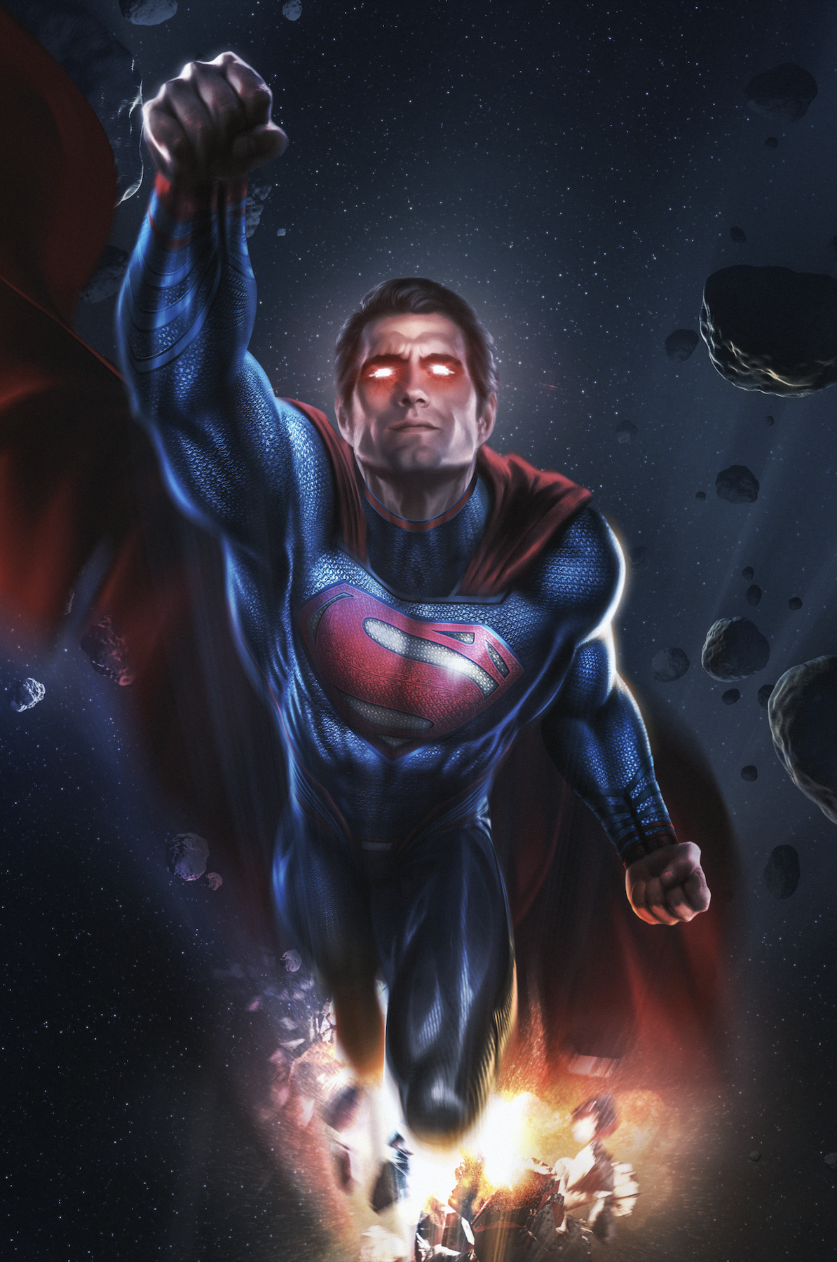 "Superman 'Flight' Poster - 20"" x 30"""