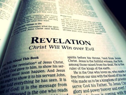 Image result for revelation coming to pass