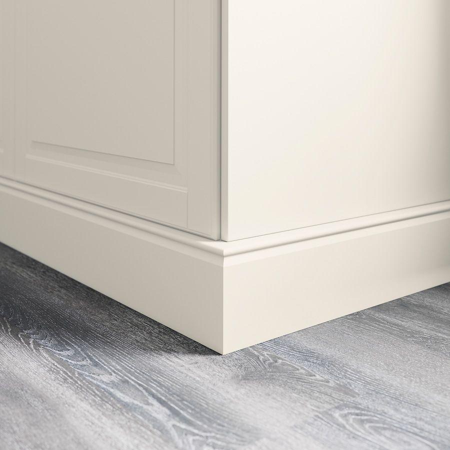Forbattra Decorative Toekick Off White Ikea Ikea Kitchen Cabinets Toe Kick Ikea Kitchen