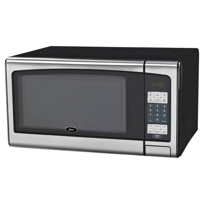 Oster 1 1 Cu Ft 1000 Watt Digital Microwave Oven Stainless