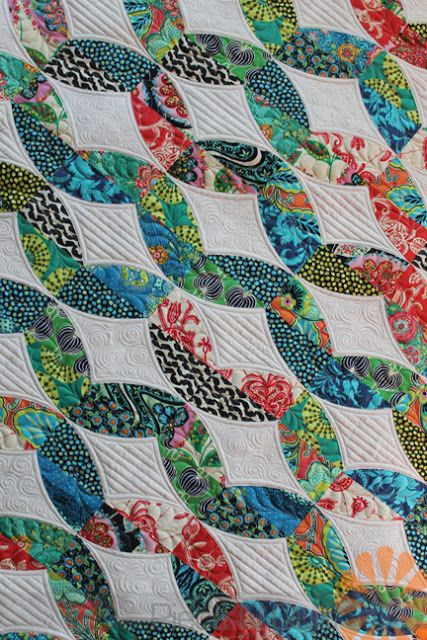 Metro Twist - Custom Machine Quilting by Natalia Bonner (Piece N ... : machine quilting blogs - Adamdwight.com
