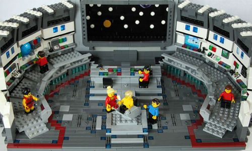 Lego Creations Star Trek Bridge For All You Treckies Out There