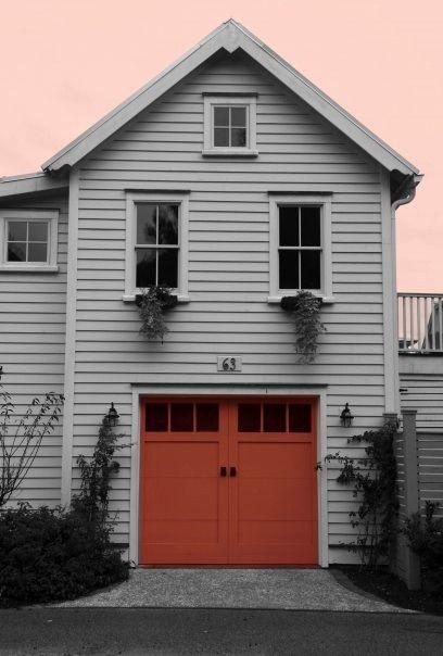 Charleston Homes Charleston Homes Garage Door Paint House Exterior