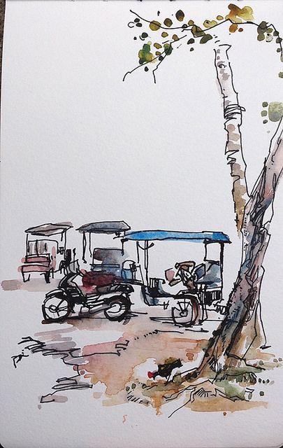 Tuk-tuk. Siam Riep, Cambodia | Flickr - Photo Sharing!