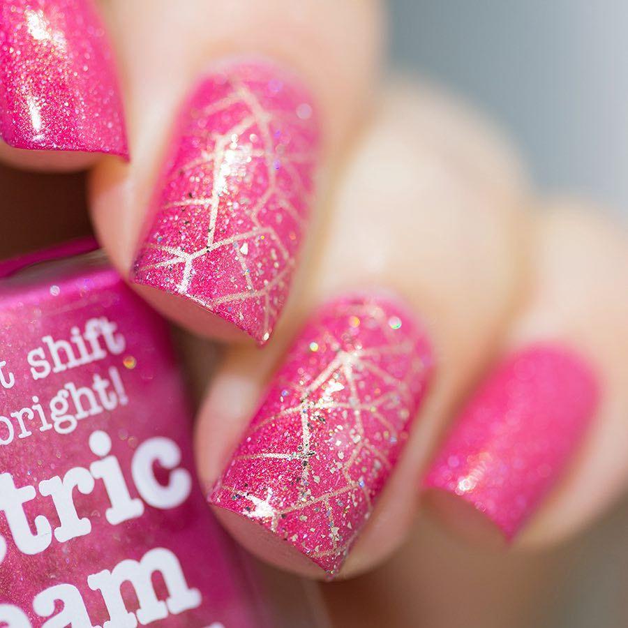 Nail Polish Arti Indonesia: Lakkomlakkom Sur Instagram : Pink Galaxy With