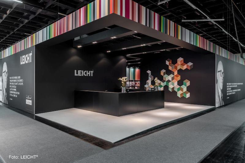 livingkitchen 2017 messestand leicht küchen ag le colours von le ... - Leicht Küchen Katalog
