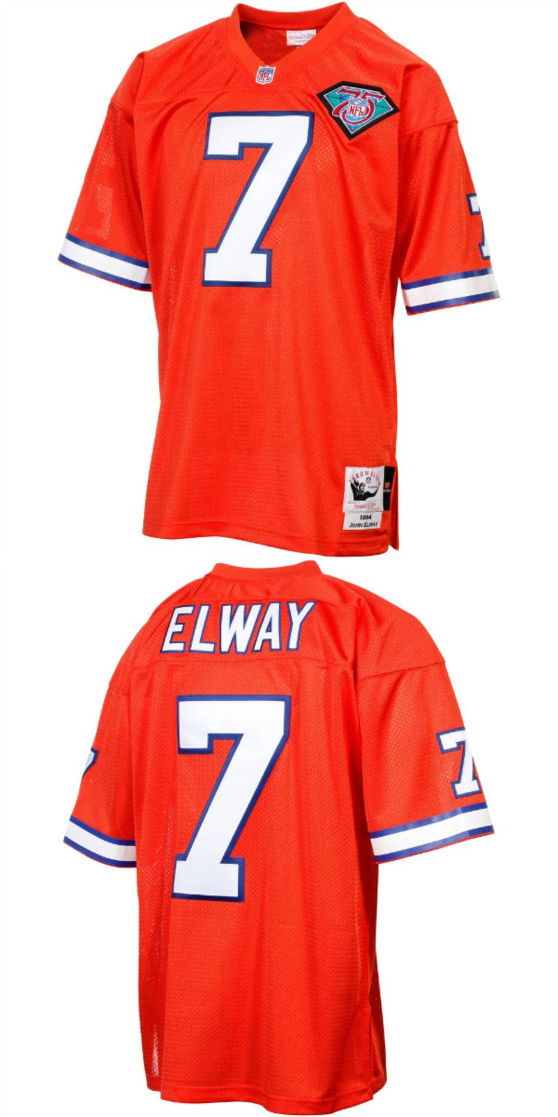 finest selection d86b3 96cb6 2019 的UP TO 70% OFF. John Elway Denver Broncos Mitchell ...