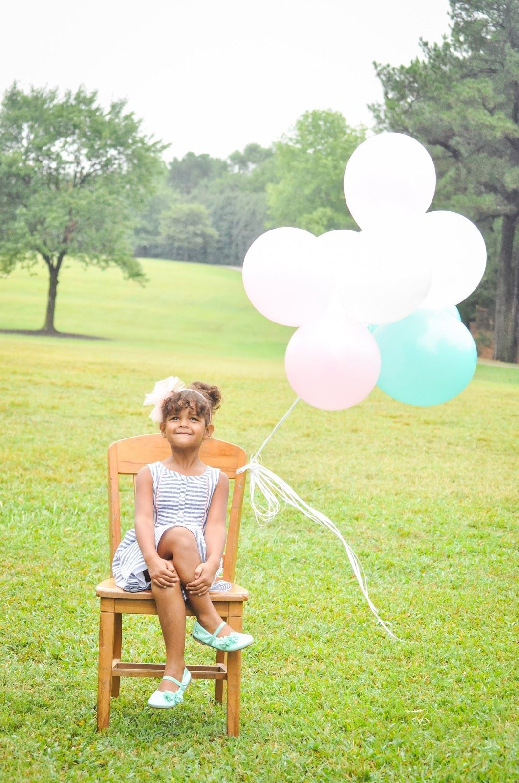Nadia Sophie is 4 + FIVE Ways to Make a Birthday Feel Special and sweet birthday photo ideas