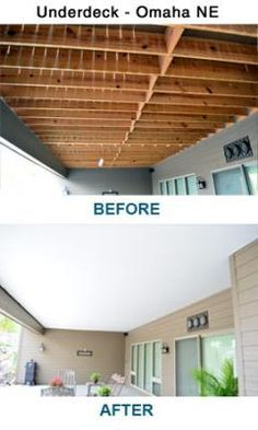Under Deck Zip Up Ceiling And Underdeck Systems Zip Up Underdeck Finishes The Underside Of Your Deck Prov Patio Under Decks Building A Deck Deck Remodel