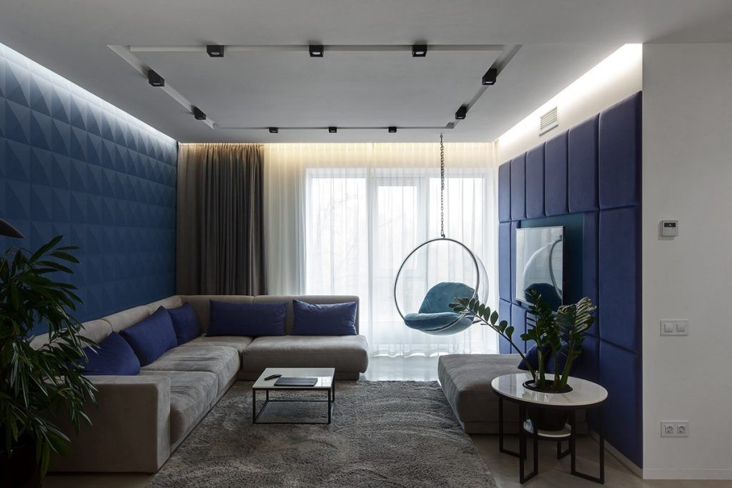 Home Designing Overcoming A Dark Apartment With Ingenious