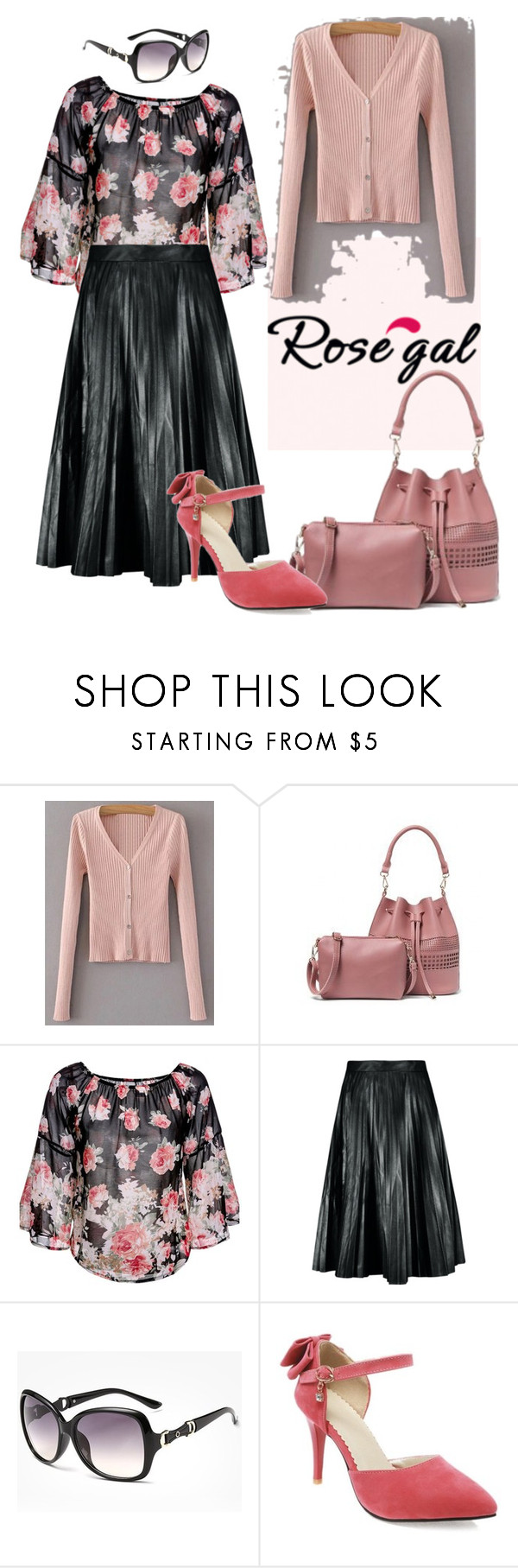 """""""Rosegal"""" by confusioninme ❤ liked on Polyvore"""