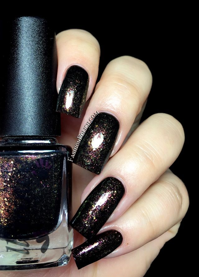Fashion Polish: Colors by Llarowe Fall collection part 1 : the shimmers and glitters! - Elegance.         B