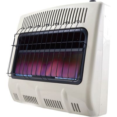Mr Heater Propane Vent Free Blue Flame Wall Heater 30 000 Btu Model Mhvfb30lpt Propane Heater Propane Wall Heaters Natural Gas Garage Heater