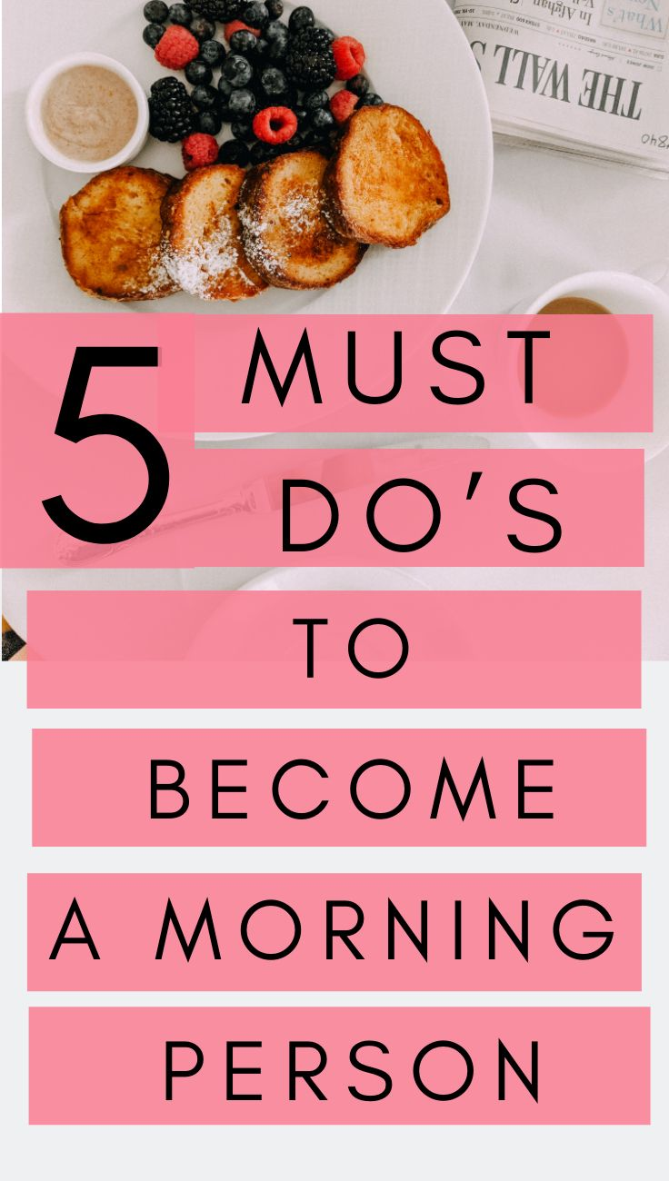 Photo of Morning Routines: How to Become a Morning Person – Daily Routines