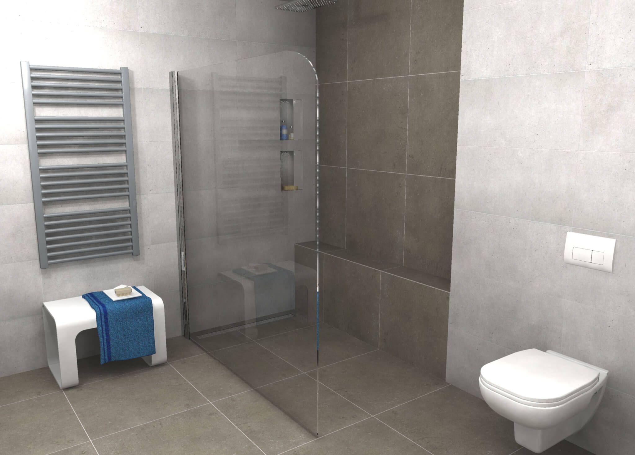 Afmeting Toilet Badkamer : Deze mooie badkamer is gerealiseerd met de portinari nobilis tegel