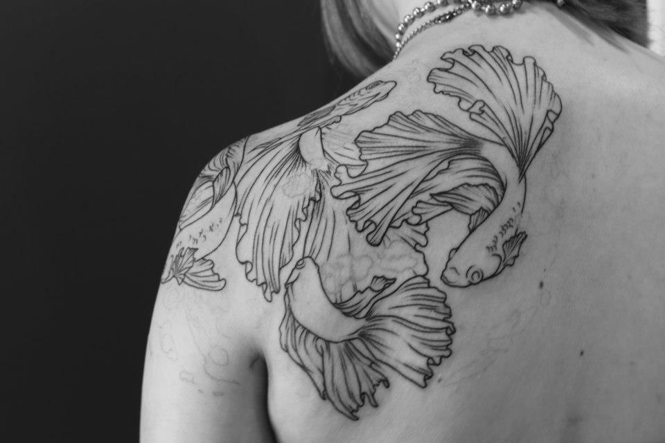 Lovely Bettas Ink Tattoo Inspo Fish Ink Betta Tattoo Betta Fish Tattoo Tattoos