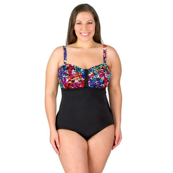 continental lingerie plus size swimsuit from longitude | swimsuits