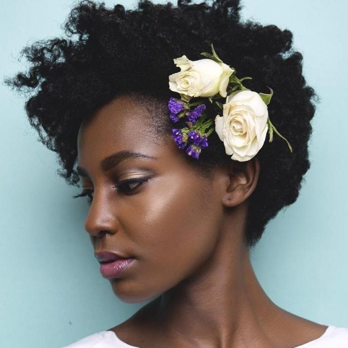 50 Superb Black Wedding Hairstyles Natural Wedding Hairstyles