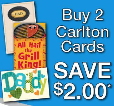 Carlton Cards Printable Coupon 2 Off Wub2 Printable Cards Carlton Cards Printable Coupons