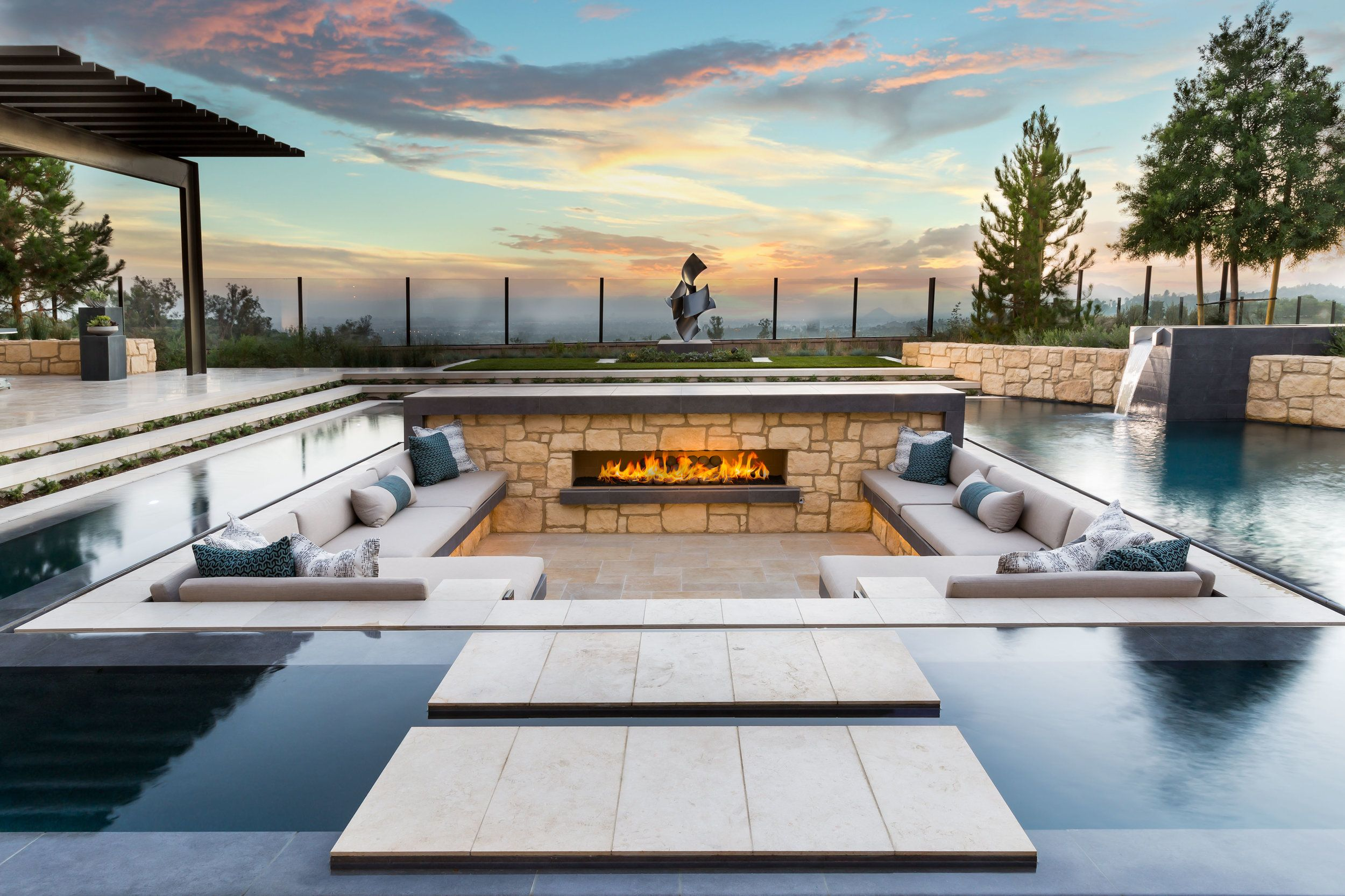 Alta Vista Jpg Backyard Pool Designs Outdoor Fireplace Designs Modern Pools