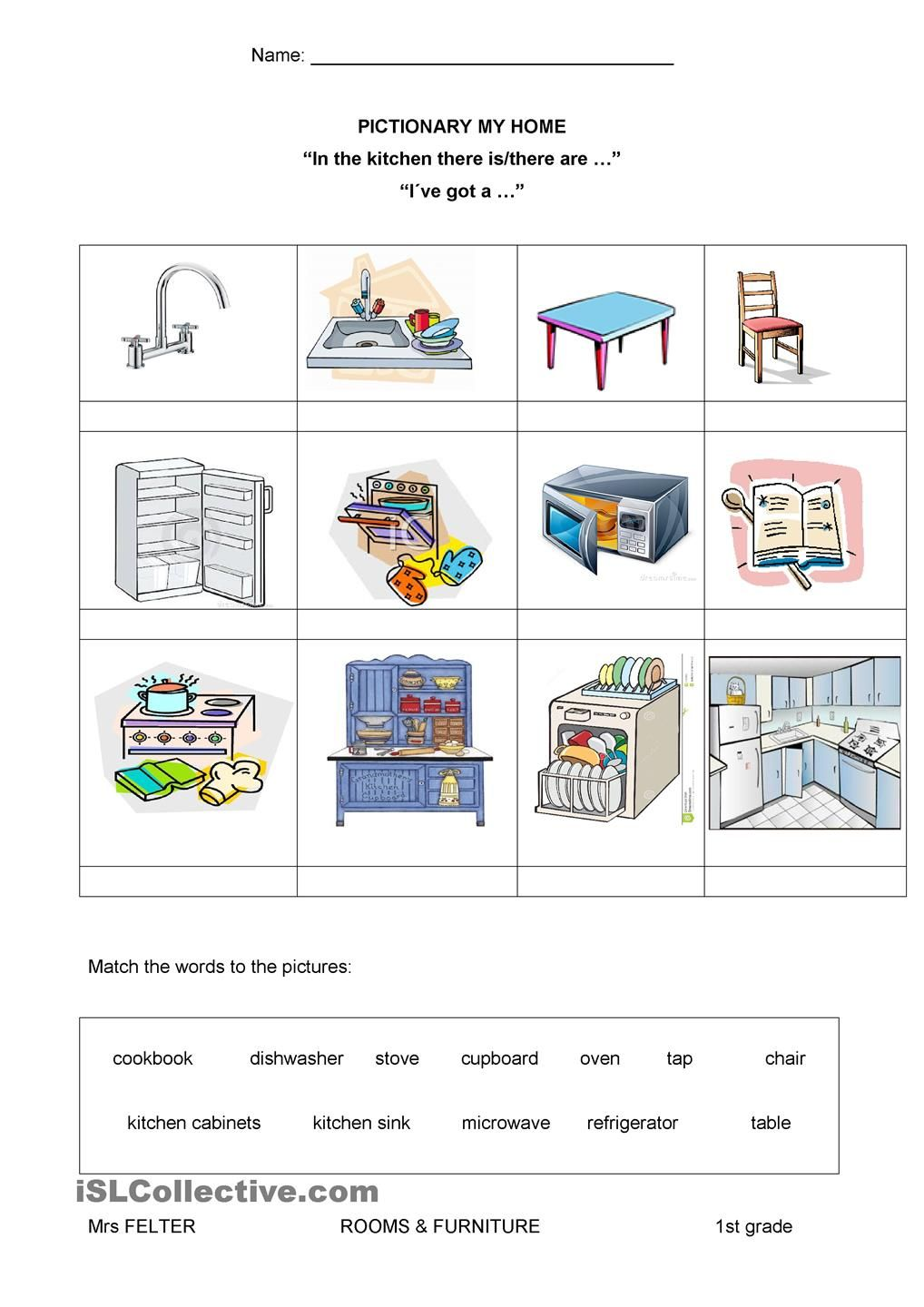 This Is My Home Teaching Pinterest Worksheets Printable