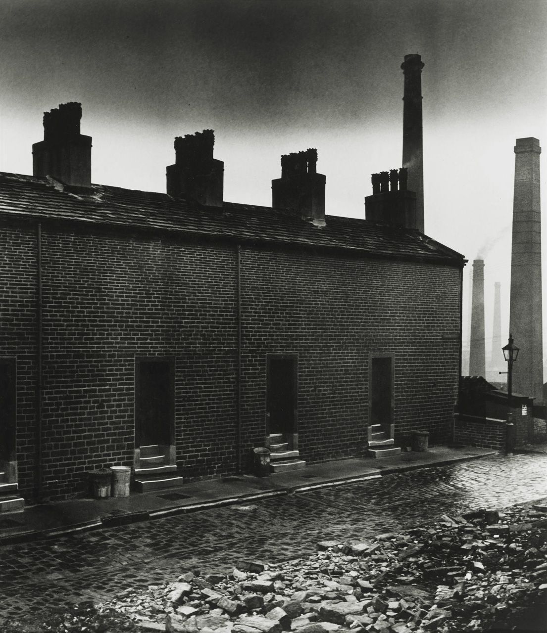 Melisaki Coal Miners Houses East Durham Photo By Bill Brandt