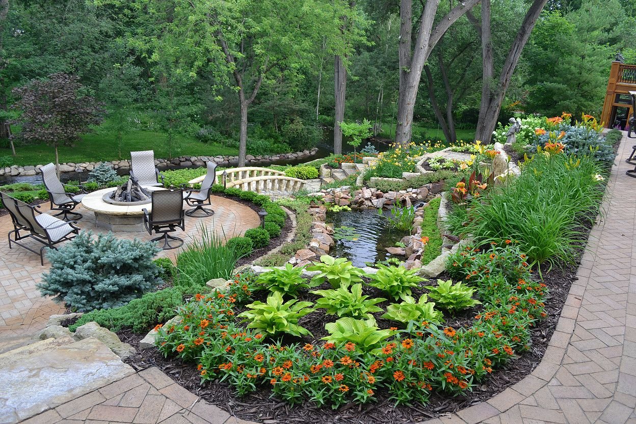 Bachmans Landscaping Water Features In The Garden 400 x 300