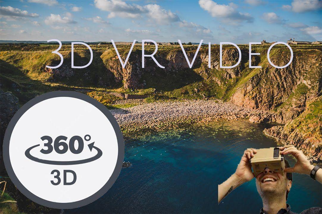 Bullers Of Buchan Aberdeen 360 3d Vr Video Youtube Video New