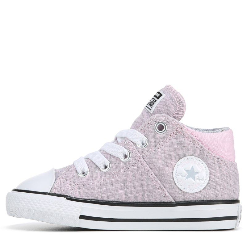 Converse Kids' Madison Mid Top Sneaker Toddler Shoes (Pink
