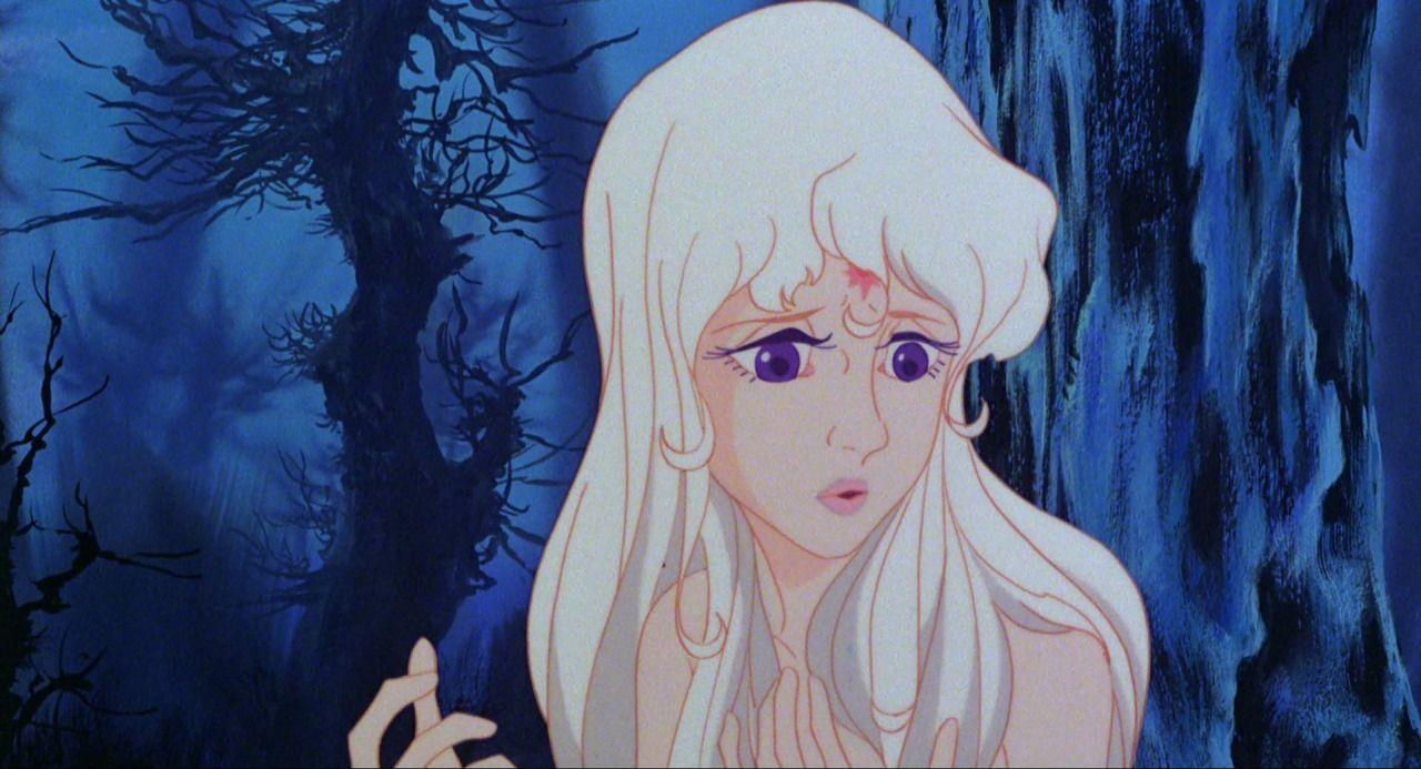 The beautiful Lady Amalthea. The Last Unicorn The last