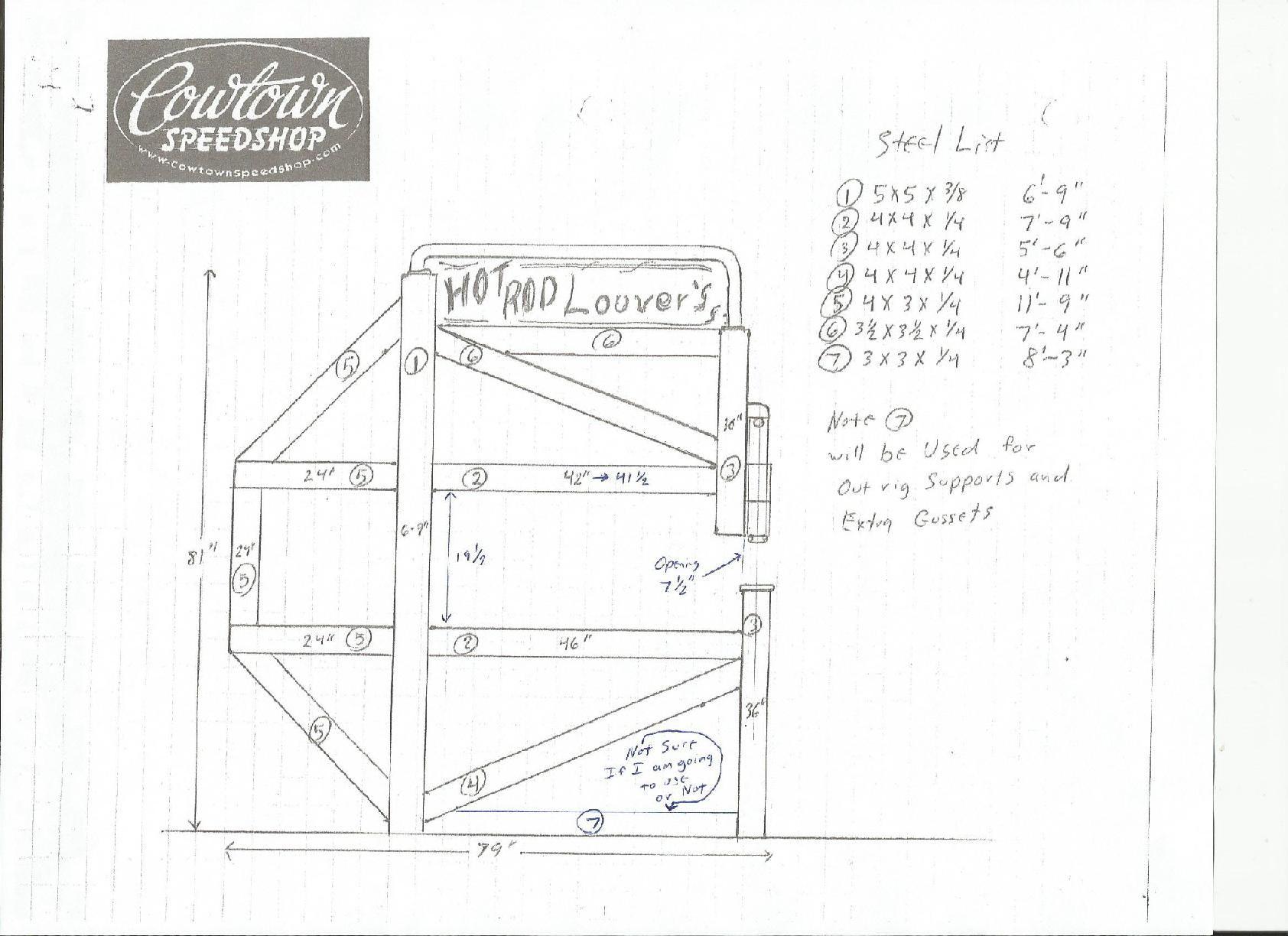 Louver Press Blueprints