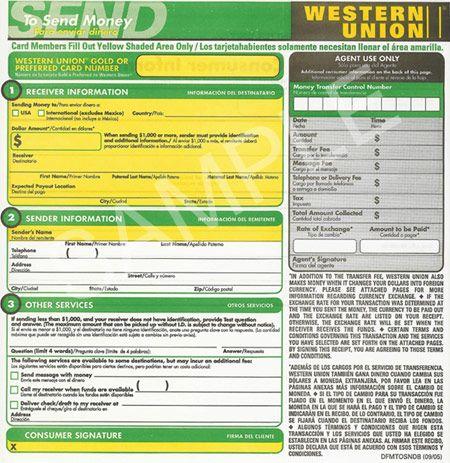 Western Union ONE ILLUMINATI Pinterest Illuminati - money order form