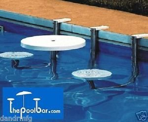 New Pool Bar Inground Pool Swimming Poolbar Thepoolbar Resort Style Patio  Table | EBay