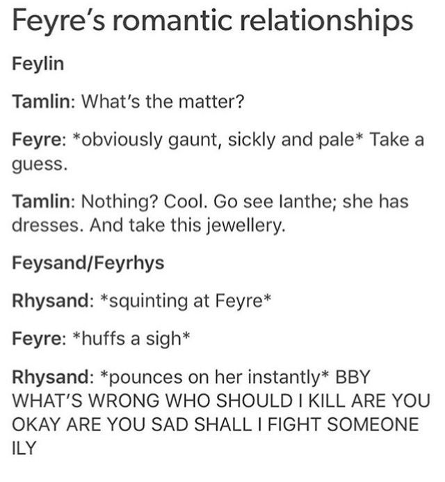 One Of The Many Reasons I Love Rhysand A Court Of Mist And Fury