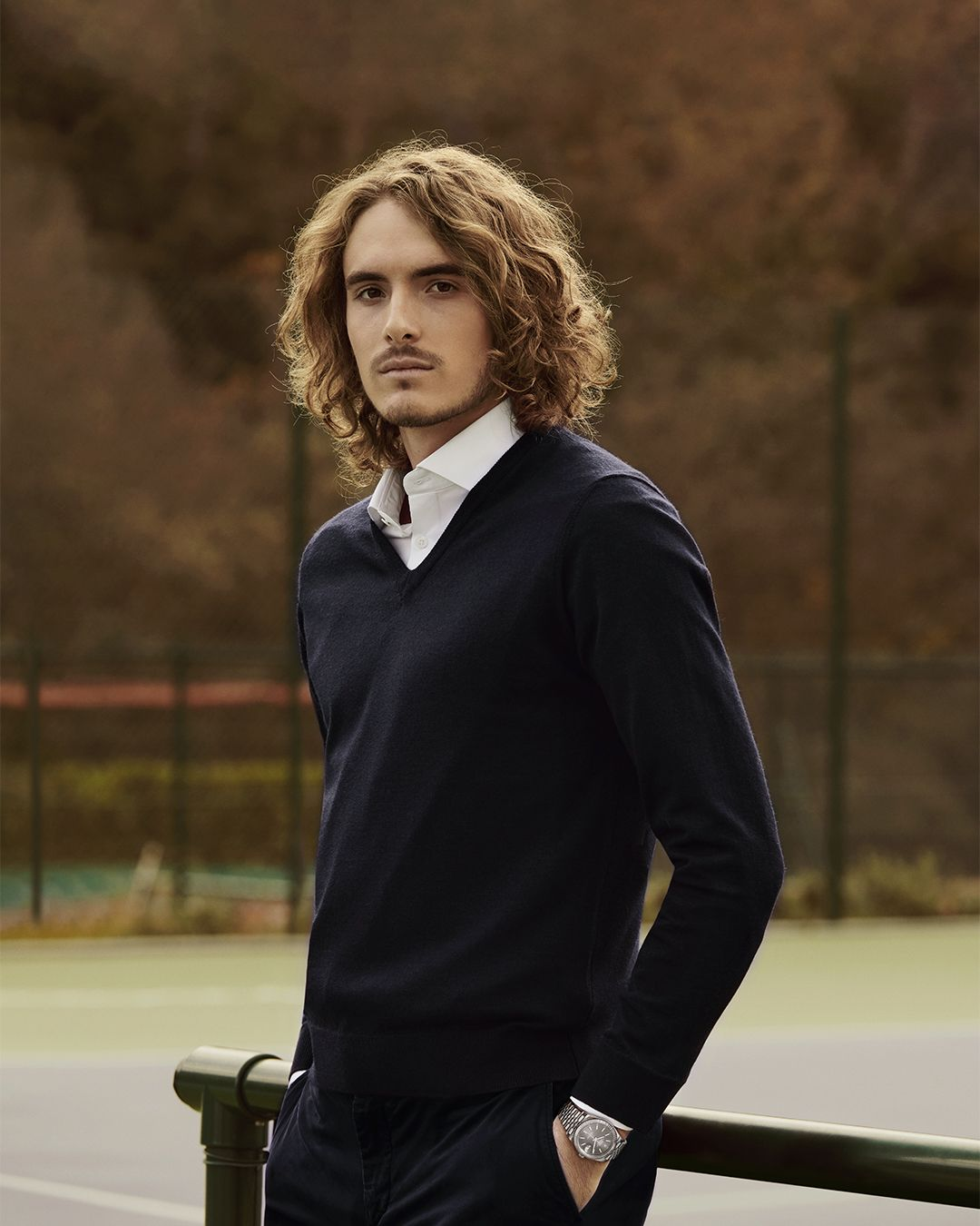 Stefanos Tsitsipas Had A Standout Year In 2019 In January The Young Greek Tennis Champion Beat His Idol Roger Federer To In 2020 Tennis Champion Men Style Tips Rolex