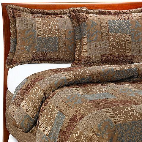 Croscill 174 Galleria Comforter Set In Chocolate Comforter