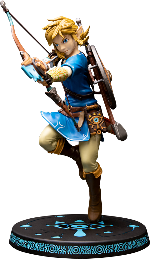 The Legend Of Zelda Breath Of The Wild Link Pvc Figure Sideshow Collectibles Breath Of The Wild Legend Of Zelda Legend Of Zelda Breath
