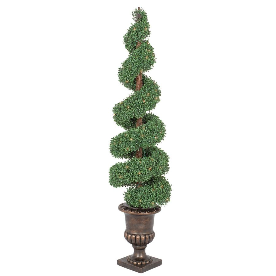 Ge 5 Ft Pre Lit Boxwood Slim Artificial Christmas Tree With White Clear Incandesc Slim Artificial Christmas Trees Artificial Christmas Tree Incandescent Lights