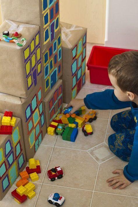 The Big City… | Preschool building theme, Blocks preschool ...