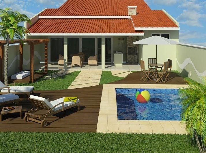 Contrafachada con techo de tejas chinii pinterest for Techos de tejas para patios exteriores