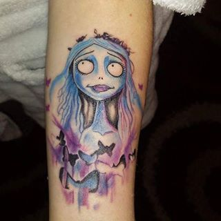 Also, it's basically been proven that all Corpse Bride tattoos are stunning. | 27 Stunning Reasons To Get A Tim Burton Tattoo
