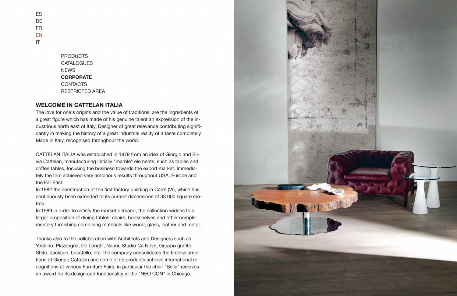 Welcome in Cattelan Italia spa! | FURNITURE | Pinterest