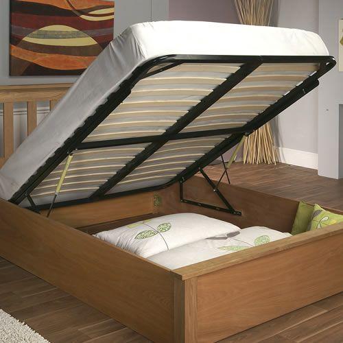 Terran Oak Ottoman Masterbedroom Ottoman Bed Bed Ottoman
